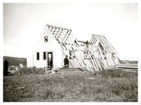 Montauk Development Corp.  house under construction, 1920s