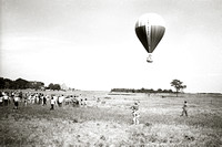 Free Life balloon launch, Springs, 1970