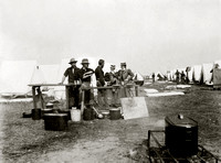 Rough Riders Camp in Montauk with Visitors